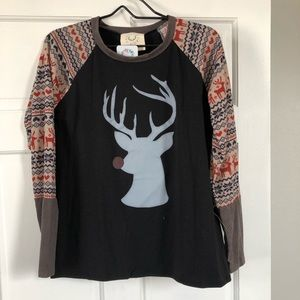 Deer long sleeve shirt